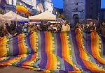 FOTO Cremona, presidio e flash mob per il popolo curdo