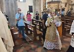 FOTO Festa del patrono, messa con l'arcivescovo di Milano
