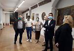 FOTO la visita dell'assessore regionale alla Cultura Galli a Crema
