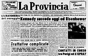 J. F. Kennedy è il 35° presidente degli Stati Uniti d'America