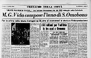 M. G. Vida compose l'inno di S. Omobono