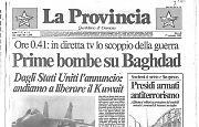 Prime bombe su Baghdad