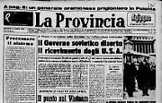 Il Governo sovietico diserta il ricevimento degli U.S.A.