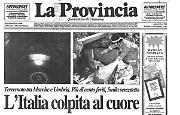 La Basilica di Assisi devastata dal terremoto