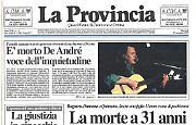 Addio a Fabrizio De André voce dell'inquietudine