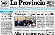 Mucca pazza, primo caso sospetto in Italia