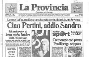Ciao Pertini, addio Sandro