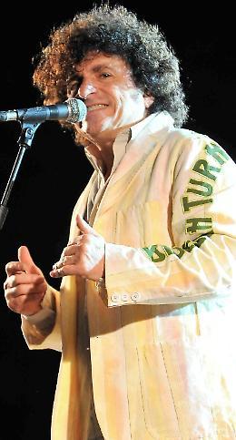 Al rocker Lanzetti il premio 'Dono dell'umanità'