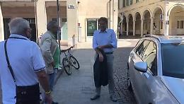 VIDEO Giorgetti (Lega) in città per sostenere Cavatorta