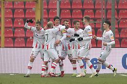 Gol di Claiton e Piccolo: Perugia battuto 2-1