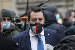 """Roma, Salvini """"Giorgetti? Non si riparte dai salotti di Calenda"""""""