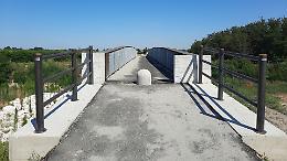 Cicloturismo, inaugurato il ponte sull'Arda a Villanova