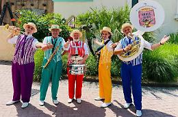 Dixie Band in salsa casalasca: «Qui per la gioia dei turisti»