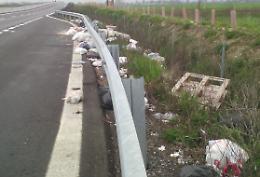 Immondizia abbandonata: dieci tonnellate in un anno