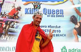 Il cremonese Fabio Galli re del beach volley Italia