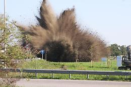 Due bombe d'aereo neutralizzate dai Guastatori di Cremona