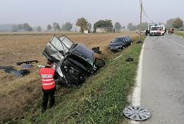 Scontro tra tre auto sulla Bassa per Casalmaggiore: 3 feriti gravi