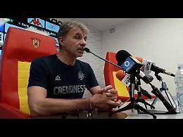 VIDEO Mister Marco Baroni commenta Benevento-Cremonese