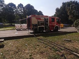 Incendio in via Panfilo Nuvolone: 3 intossicati