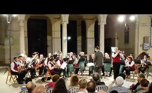 """VIDEO  Concerto d'estate del corpo bandistico 'Lodovico Grossi""""'"""