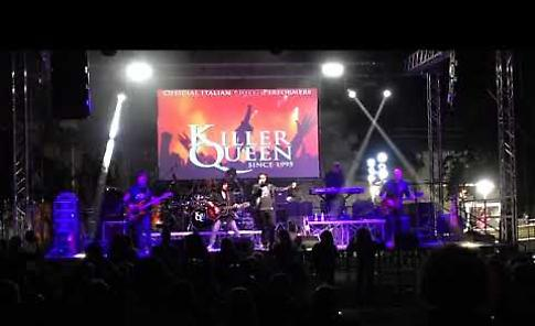 VIDEO Fiera settembrina, il concerto dei Killer Queen
