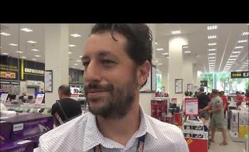 VIDEO Intervista al pubblico nel primo giorno di apertura della Comet