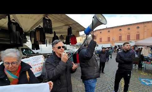 VIDEO Terapia Intensiva Neonatale: Casalmaggiore protesta per solidarietà