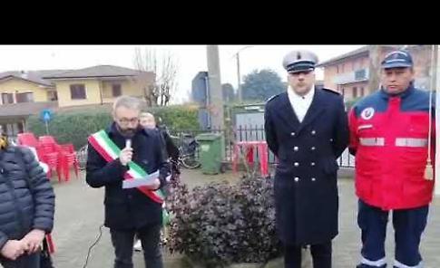 VIDEO La commemorazione: «Noi non dimentichiamo»