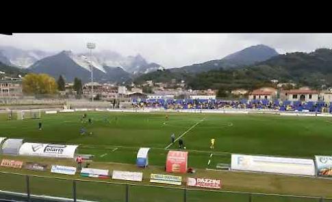 VIDEO Carrara-Pergolettese: il prepartita