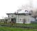 Le drammatiche immagini della villetta incendiata