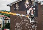 Un capolavoro in due minuti: il timelapse dello street artist innamorato dei classici