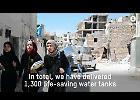 La fornitura d'acqua ad Aleppo