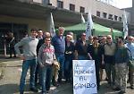 Sit-in e raccolta firme della Lega Nord contro la moschea