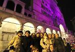 Le foto. Il Duomo e il Torrazzo di Cremona si colorano di viola per i bimbi prematuri