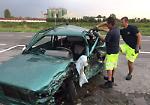 FOTO L'incidente sulla via Giuseppina costato la vita a un 75enne