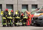 FOTO Incendio con un morto in via Ghisleri a Cremona