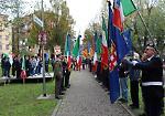 FOTO Omaggio a chi ha perso la vita nelle missioni internazionali per la pace