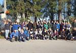 FOTO Scout e volontari giardinieri in via Lungo Po Europa