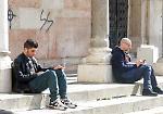 FOTO Le immagini del raid vandalico nel cuore di Cremona