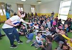 FOTO E' Più Pomì e Padania Acque nelle scuole di San Giovanni in Croce e Gussola