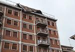 FOTO Il vento sferza il Casalasco Oglio Po, tetto sradicato a Viadana