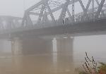 FOTO Il fiume Po nel momento in cui ha raggiunto gli 83 centimetri sopra lo zero