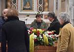 FOTO Gianni Morandi al funerale di Renzo Finardi