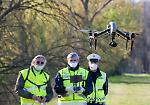 FOTO Coronavirus, decollano i droni contro i trasgressori