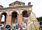 FOTO Il vescovo Napolioni a Caravaggio
