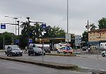 FOTO Mamma e bimba travolte in bici, l'incidente in tangenziale a Cremona