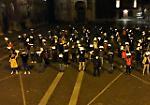 FOTO Cartelle esattoriali stracciate, la manifestazione dei negozianti a Cremona