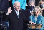 FOTO Joe Biden ha giurato, è il 46esimo presidente