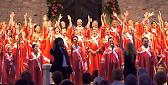 Il concerto del Placentia Gospel Choir in Piazza Cavalli
