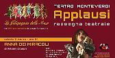 'Applausi', la rassegna della Compagnia delle Muse